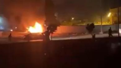 صورة مصادر محلية: إطلاق الرصاص على المتظاهرين في مدينة المرج