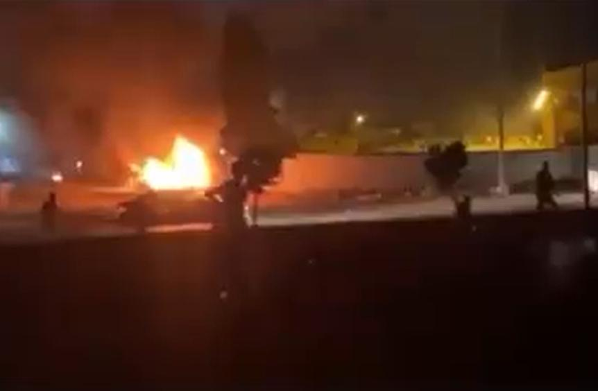 إطلاق الرصاص على المتظاهرين في مدينة المرج