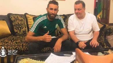 """صورة """"الأهلي طرابلس"""" يحصّن دفاعاته بـ""""عكاشة"""" لمدة 3 مواسم"""