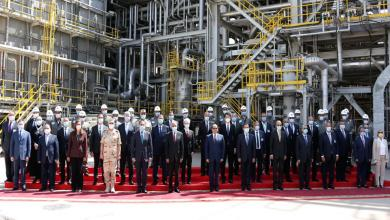 صورة مصر تفتح أحد أكبر مصافي تكرير البترول في أفريقيا