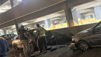 صورة هجمات جديدة بالصواريخ تستهدف مطار بغداد