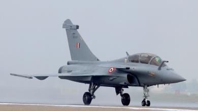 """صورة تصعيدًا للتوتر.. الهند تختبر مقاتلات """"رافال"""" قرب حدود الصين"""