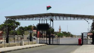 """صورة مطالبة ليبية بفتح الجانب التونسي لمنفذ رأس جدير  وفق """"المعاملة بالمثل"""""""
