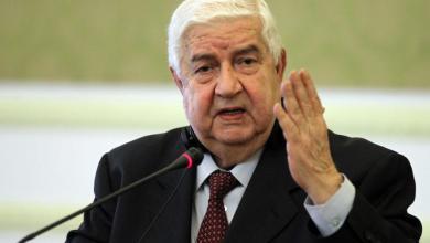صورة وزير سوري: أعمال تركيا التخريبية طالت ليبيا والعراق