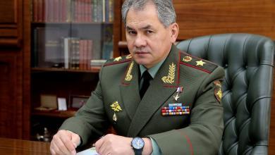 """صورة وزير الدفاع الروسي: أزلنا """"داعش"""" بالكامل من أراضي سوريا"""