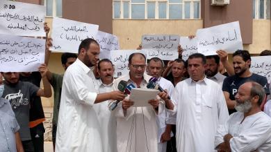 صورة بني وليد.. ذوي المختطفين في زليتن يطالبون بإطلاق سراحهم