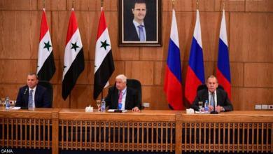 """صورة لافروف يؤكد دعم بلاده لسوريا """"عسكرياً واقتصادياً"""""""