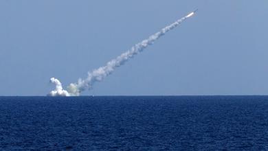 """صورة في مناورات """"القوقاز 2020"""".. صواريخ سفن تدمر أهدافًا جوية"""