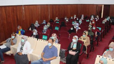 صورة ورشة توعوية حول الوقاية من كورونا في المدارس بمدينة بنغازي