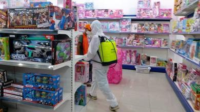 صورة بلدية أبوسليم تُلزم أصحاب المحلات بتوفير آلات التعقيم للعاملين والزبائن