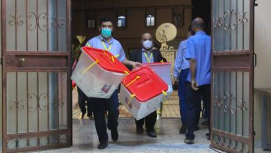 صورة اللجنة المركزية للانتخابات تعلن النتائج النهائية ببلدية مصراتة
