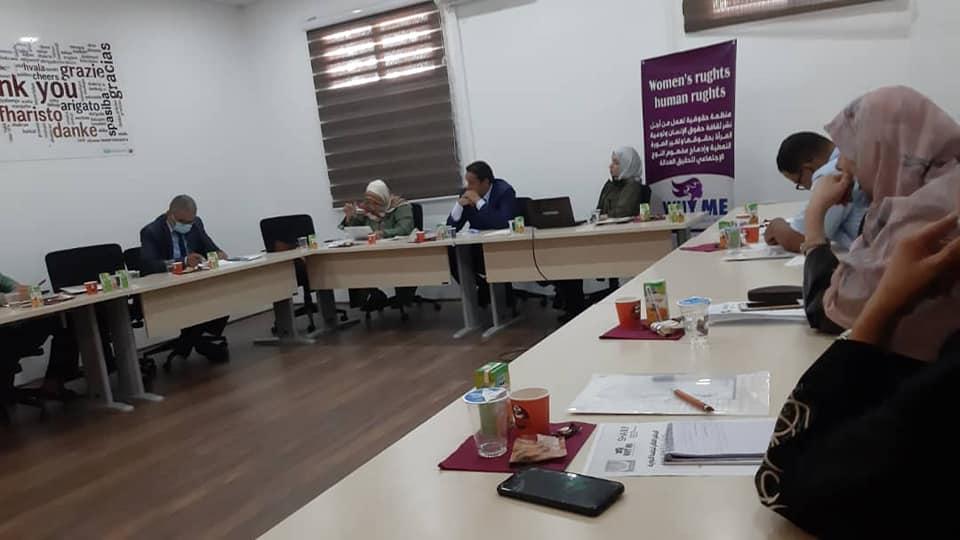 اللجنة الوطنية لحقوق الإنسان بليبيا تنظم جلسة حوارية في طرابلس حول حقوق المرأة وحمايتها وسيادة القانون