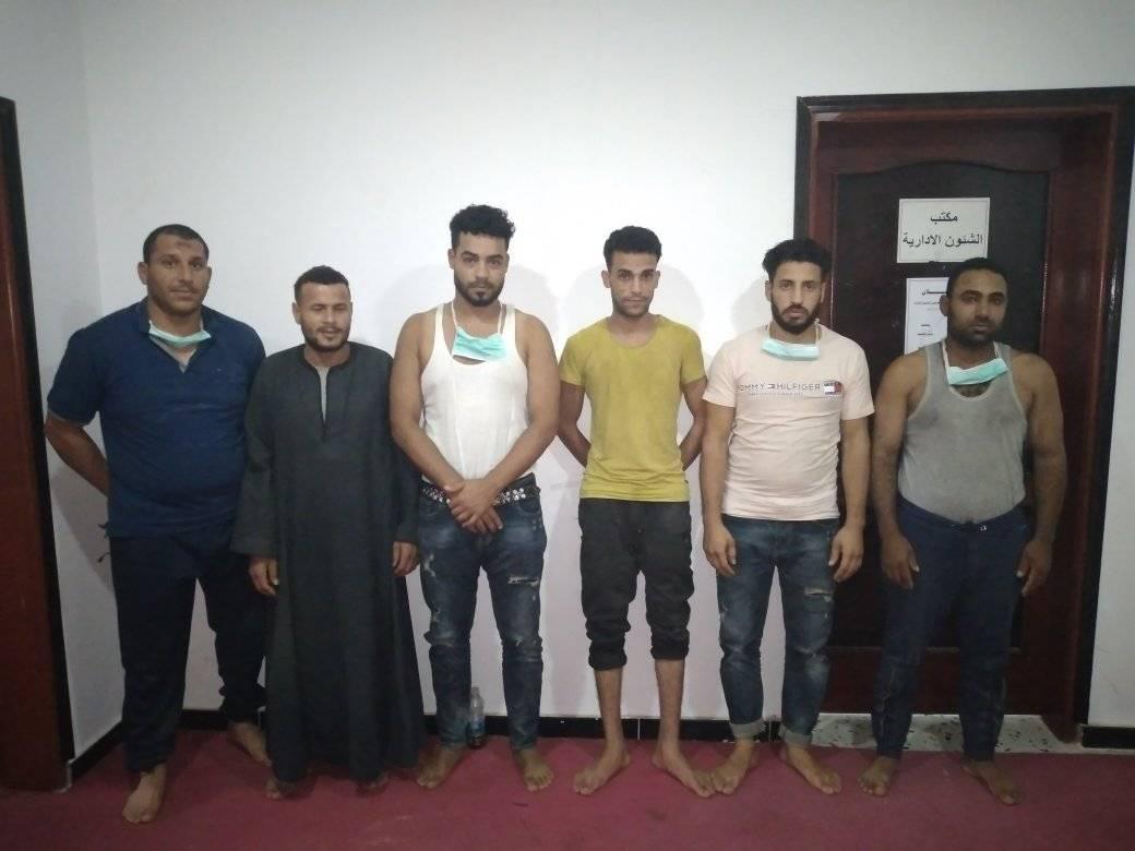 مديرية أمن بني وليد تُحرّر 8 مصريين بعد اختطافهم