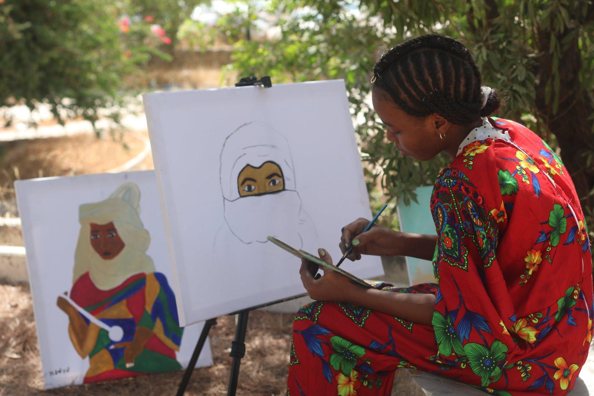 صورة نشرتها الصفحة الرسمية لليوم الوطني للثقافة التباوية على الفيسبوك