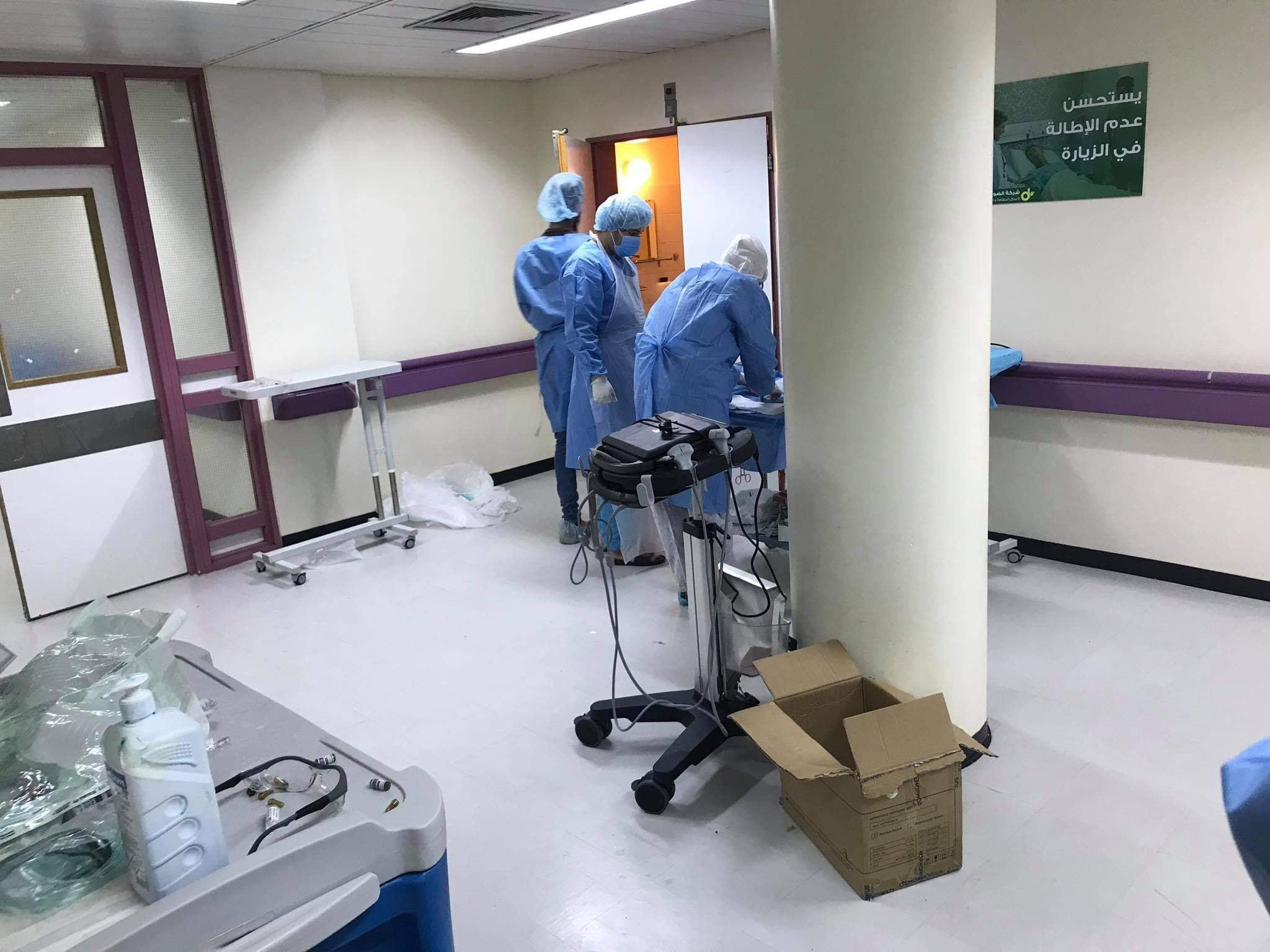 مركز بنغازي الطبي يعلن نجاحه في إجراء عملية قيصرية مستعجلة