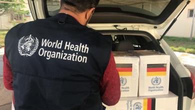 صورة الصحة العالمية تُقدّم شحنة أدوية لمستشفى الرازي في طرابلس