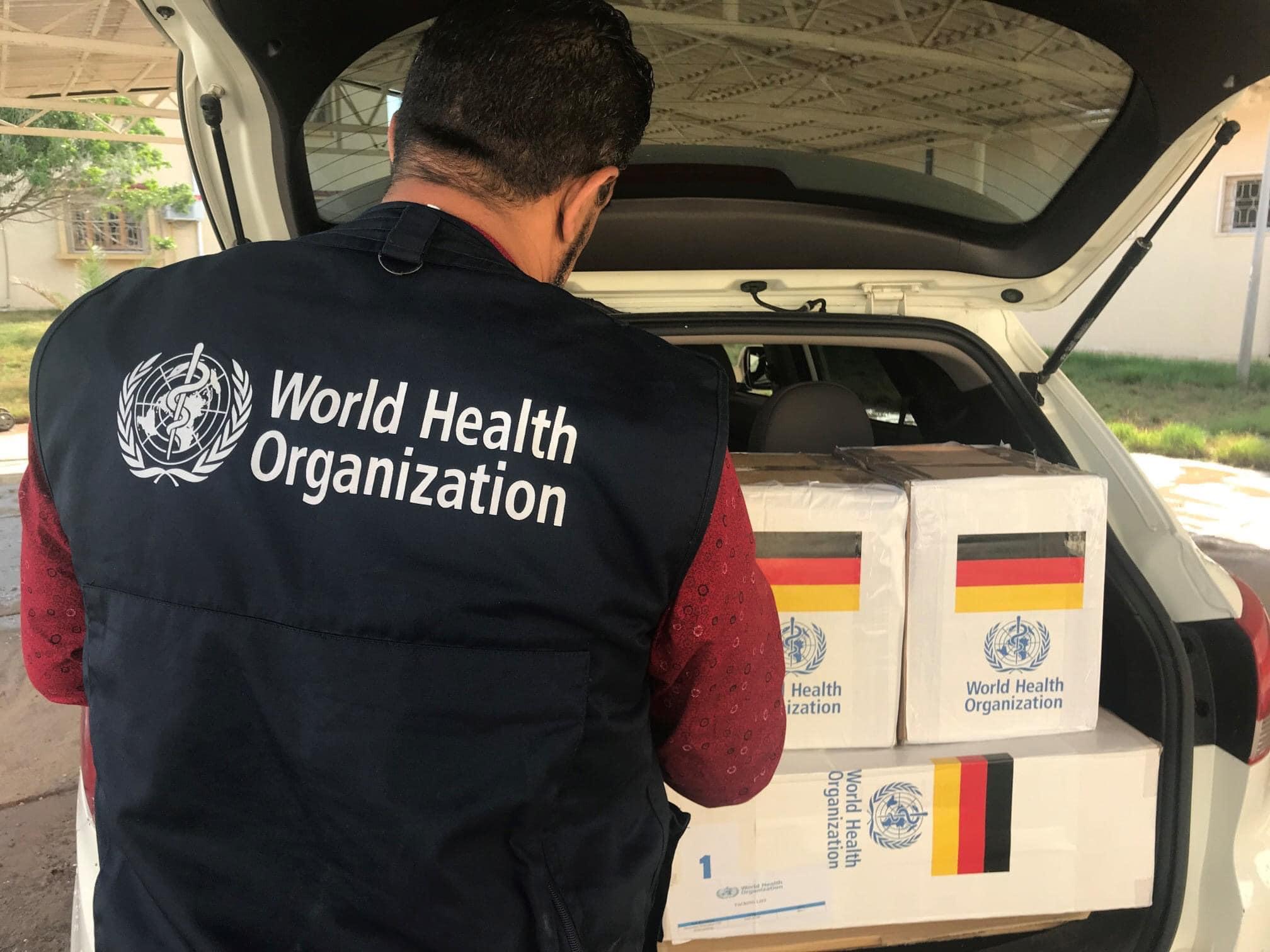 الصحة العالمية تُقدّم شحنة من الأدوية لمستشفى الرازي في طرابلس