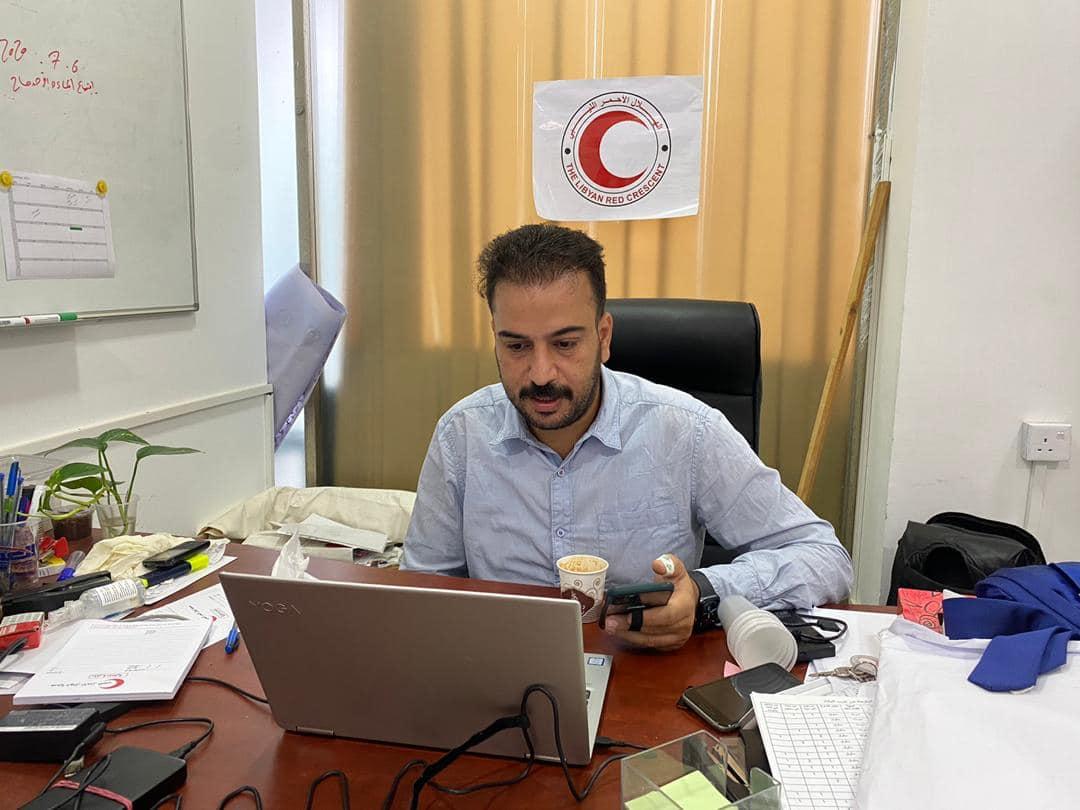 الهلال الأحمر الليبي يشارك في اجتماعات لجنة عمليات الحركة الإنسانية