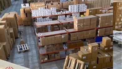 صورة صحة الوفاق تدعم بلدية درج بشحنة من الإمدادات الطبيّة