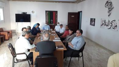 """صورة مركز السلام في بنغازي يُنظم جلسة حوار حول """"فتح النفط"""""""