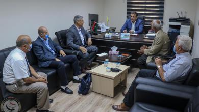 صورة النمروش يبحث دعم حماية السيادة الليبية في المجال الجوي