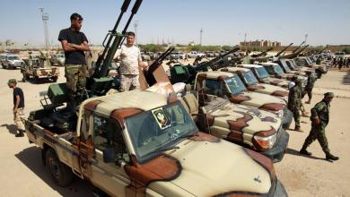 """صورة قيادات عسكرية ليبية تلتقي في الغردقة تمهيداً لمباحثات """"5+5"""""""