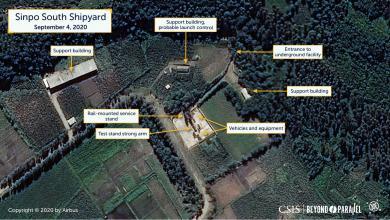 صورة كوريا الشمالية تتأهب لإطلاق صاروخ باليستي متوسط المدى