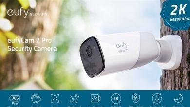 صورة أنكر تطلق كاميرا مراقبة لاسلكية تسجل فيديوهات بدقة 2K