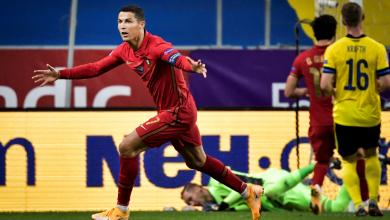 """صورة البرتغال تتغلب على السويد في ليلة """"تألق رونالدو"""""""