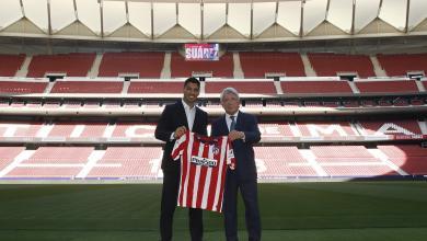 صورة سواريز ينتقل رسمياً إلى أتلتيكو مدريد