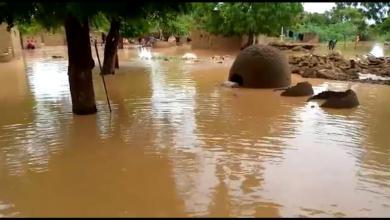 """صورة فيضانات النيجر تُشرّد الآلاف.. وتوقع """"وضعاً أسوأ"""""""