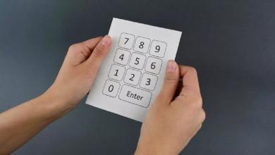 """صورة ابتكار أمريكي جديد يحوّل """"الورق"""" إلى جهاز إلكتروني"""