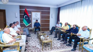 (24) عضواً من المجلس الأعلى للدولة يرفضون اتفراد المشري بالقرارات ويحتجون على لجنة اختارها للقاء المغرب