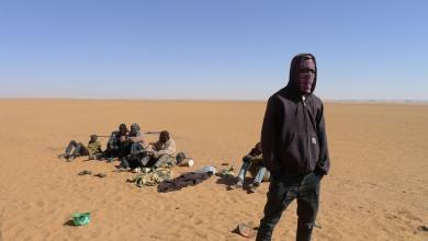 صورة إنقاذ 80 مهاجرا تركهم مهُربون في صحراء النيجر