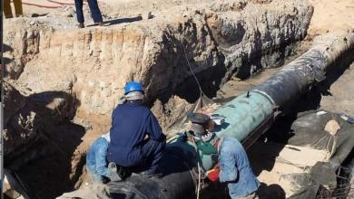 صورة إعادة الحقل النفطي المزود لمحطات الكهرباء للعمل