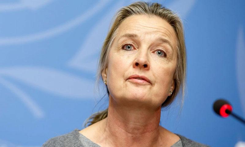 إليزابيث هوف -ممثلة منظمة الصحة العالمية في ليبيا تنفي منح ليبيا مبالغ مالية بالملايين لمكافحة كورونا