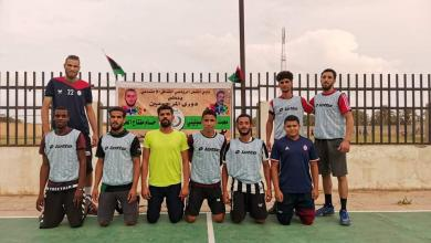 صورة انطلاق بطولة كرة اليد التنشيطية بنادي المشعل