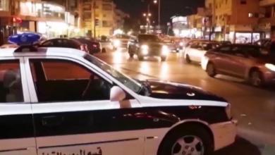 صورة بنغازي تسجل 181 حادث سير في شهر أغسطس -((صور))