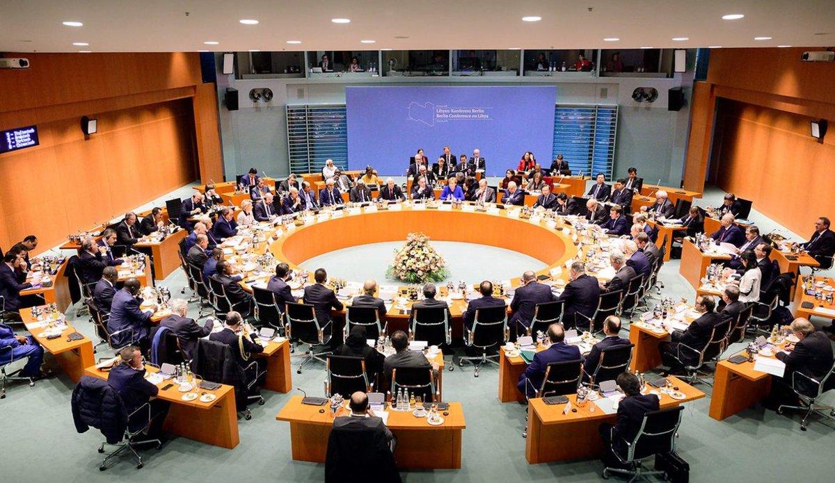 مؤتمر برلين حول ليبيا- إرشيفية