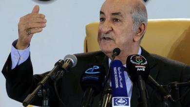 صورة تبون: الجزائر حريصة على إبعاد الأطماع الخارجية عن ليبيا