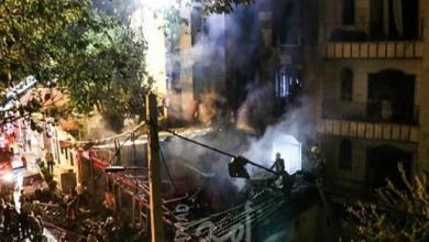 صورة مقتل 8 وإصابة العشرات بانفجارين منفصلين في إيران
