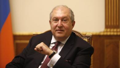 """صورة رئيس أرمينيا يحذر من """"سوريا ثانية"""".. ما لم يُكبح جماح تركيا"""
