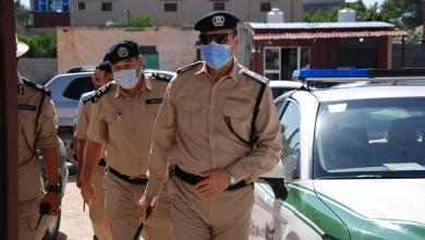 صورة رئيس جهاز الشرطة الزراعية يتفقد المرافق التابعة للجهاز