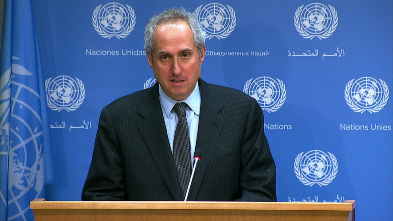 المتحدث باسم الأمم المتحدة، ستيفان دوجاريك- إرشيفية