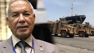 """صورة """"بعيرة"""" لـ 218 : ضرورة حل مشكلة المجموعات المسلحة والقوات الأجنبية"""