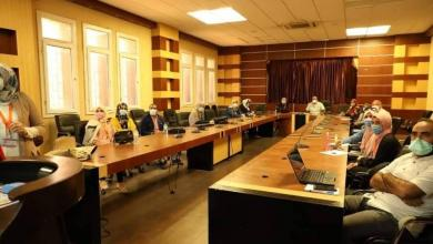 """صورة """"الوطني"""" يستعرض مع """"الصحة العالمية"""" الوضع الوبائي للدرن في ليبيا"""