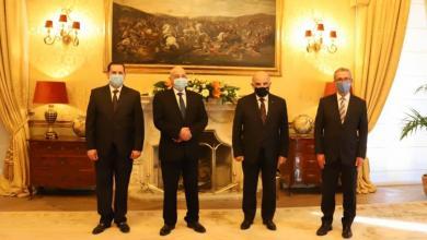 """صورة """"عقيلة صالح"""" يبحث مع الرئيس المالطي مستجدات الأزمة الليبية"""