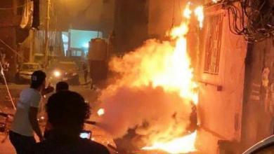 صورة بيروت.. مقتل 4 إثر انفجار خزان لمادة المازوت