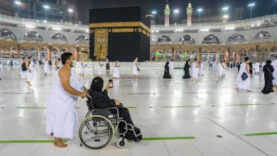 """صورة السعودية تستأنف أداء مناسك العمرة بـ """"شروط احترازية"""""""