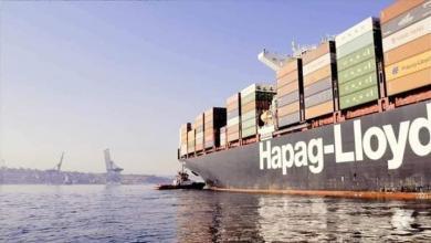 صورة ميناء بنغازي يستقبل آلاف الأطنان من البضائع و1450 سيارة